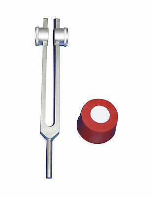 Wtd OM Tuning Fork placed on Body Parts for Sedation - Evolution from Pipes