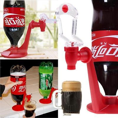 Upside Down Soft Drinks Equipment Cola Beverage Switch Drinking Dispenser