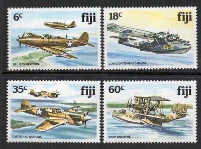 Fiji MNH 1981 World War II Aircraft