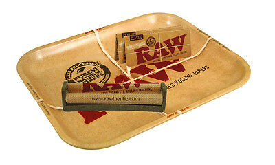 Raw Tray Set - Tray + Rolling Machine + King Size Supreme Paper