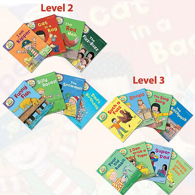 Oxford Reading Tree Read With Biff Chip & Kipper(Level 2 and 3)16 Books Set Pack