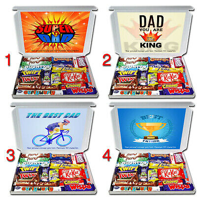 ANY OCCASION Personalised Gift Hamper for Dad Birthday thanks etc