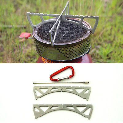 CAMPINGMOON Stoves Stand Cradle 41g Hiking Backpacking Gear (for MSR Reactor)