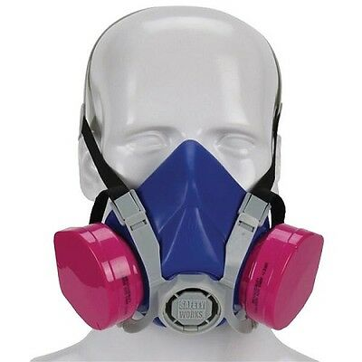 MSA Toxic Dust Respirator Lightweight And Comfortable P100 817671 SWX00319