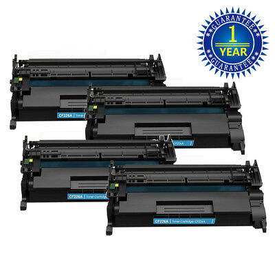 4PK CF226A Toner Cartridge for HP 26A LaserJet Pro M402n M402dn M426dn M426fdw