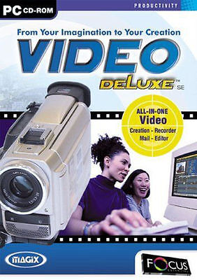Magix Video Deluxe SE (PC CD ROM) •SHIPPING •ALWAYS FAST •ALWAYS FREE•