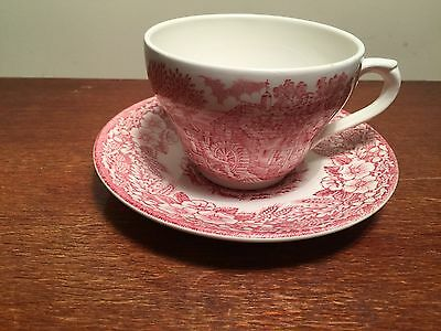 Staffordshire J.Broadhurst Ironstone - Constable Series Cup And Saucer