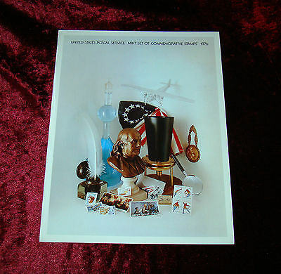 UNITED STATES POSTAL SERVICE MINT SET OF COMMEMORATIVE STAMPS 1976 Sellos Usa