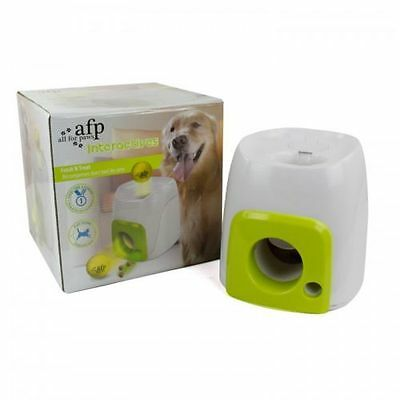 All for Paws Interactive Dog Fetch N Treat Dispenser 16x16x20cm