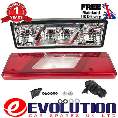Right Tail Light Complete Without Bulbs And Loom Ford Transit Tipper Mk8 2013 On