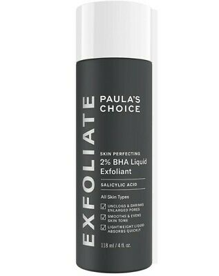 Paula's Choice Skin Perfecting 2% BHA Liquid Salicylic Acid Exfoliant New 118ml