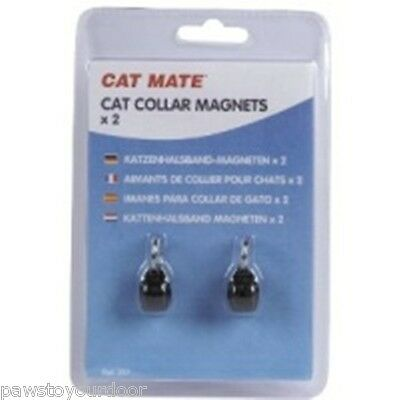 Cat Mate Magnet Spare Collar Key Pack 2 Electromagnetic Door Pet Mate Flap 257