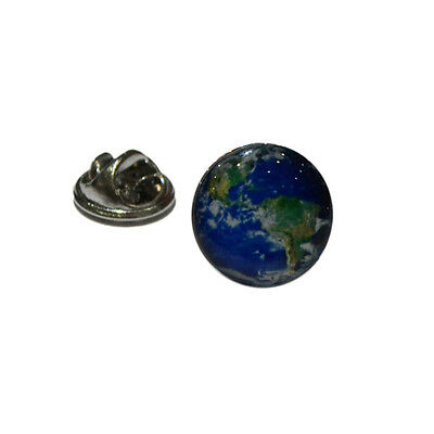 World Map Lapel Pin Badge Geographical Travellers Gift