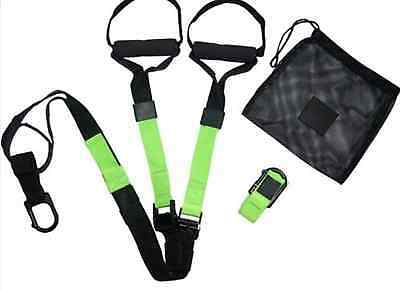 Suspension Trainer Straps MMA Workout Gym Kit Muscle Toning TRX Workout System