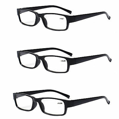 Unisex READING GLASSES +0.5 +1.00 +2.00 +3.00 +3.5 Eyeglasses Presbyopia Thin