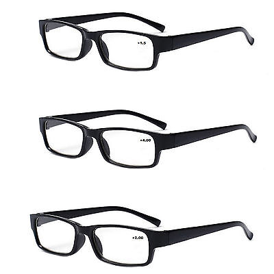 Unisex READING GLASSES +0.5 +1.00 +2.00 +3.00 +4.00 Eyeglasses Presbyopia Thin