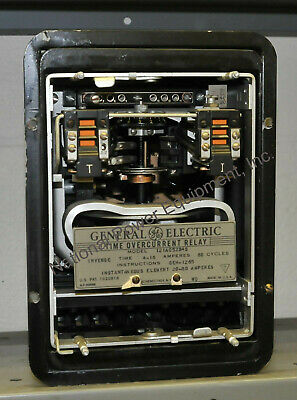 General Electric Type IAC Overcurrent Relay 12IAC52B4S