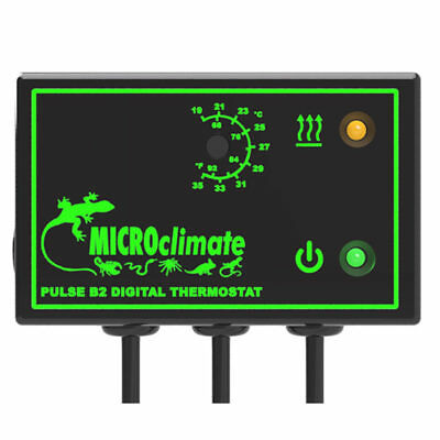 Microclimate B2 Pulse Prop Proportional Thermostat reptiles, snake, lizards