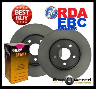 Holden Astra TS 1.8L *4 Stud* 2000-6/2004 FRONT DISC BRAKE ROTORS + PADS RDA7542