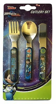 Miles From Tomorrowland | Merc 3pc Mealtime Cutlery Set | Knife, Fork and Spoon