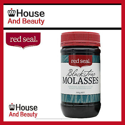 NEW Red Seal Blackstrap Molasses 500g! Best Price FREE POSTAGE