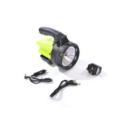1 Million Candle Power Rechargeable Cordless Halogen Spotlight Torch + Chargers