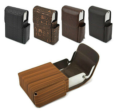 Cigarette Cases Compact Box Gift Holder Cover Purse Various Styles & Colours -Uk