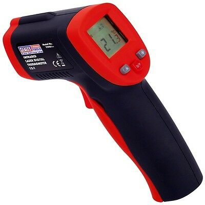 Sealey VS904 Infared Digital Thermometer 12:1 Wireless - New