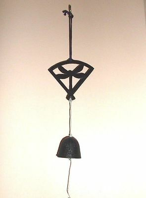 Iron Dragonfly Hanging Bell / Wind Chime from Japan _ Feng Shui Wind Chime [NEW]