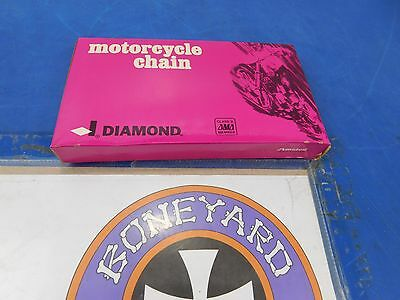 Diamond Chain 530 Std 106 Link Motorcycle Chain Final Drive Harley Custom # Std