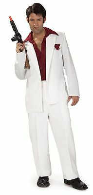 Halloween Lifesize TONY MONTANA SCARFACE Adult Men Costume Haunted House