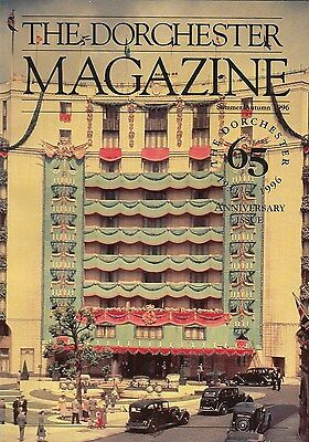 1996 DORCHESTER MAGAZINE London Luxury Hotel 65th Anniversary Issue Coronation