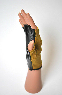 Gold Pole Dancing Gloves Fitness Class Static Spinning Poles Tack Grip Gloves