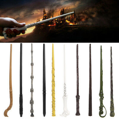 Magic Wand Collection Wizard Deathly Hallows Hogwarts New Box Cosplay Use Gift