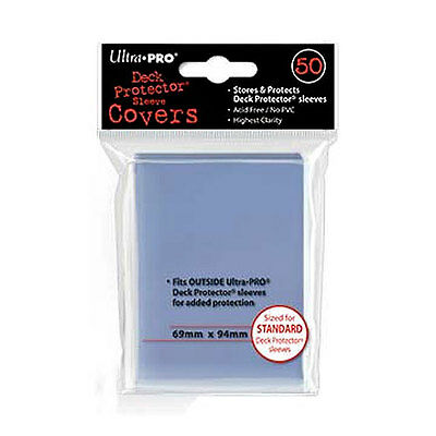 50 Ultra Pro Standard MTG Magic Deck Protector Fit Sleeve Over Cover Outer 84080