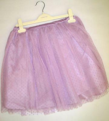 New girls ex msoon stunning lilac party tulle tutu skirt age 11-12 12-13 years