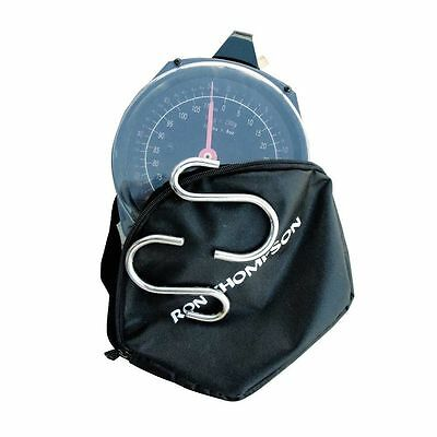 Ron Thompson Fish Specimen Scale Pro 50Kg With Case Fishing Weigh Bar Carp