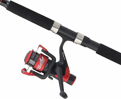 Shakespeare Firebird Beachcaster Combo Sea Surf Fishing Rod + Reel 12Ft 4-8Oz