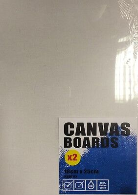 Canvas Boards ~ Pack ~ Art/Painting/Drawing ~ Two Sizes ~ Oil & Acyrlic