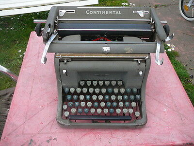 machine à écrire Continental vintage typewriter