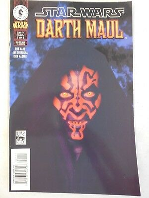1st EVER Star Wars DARTH MAUL # 1 Comic ~ DARK HORSE 2000 ~ VARIANT Photo Cover