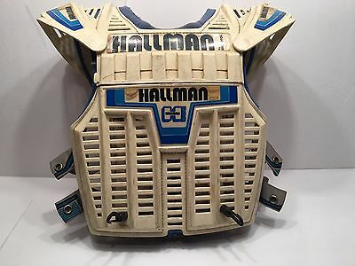 Rare Vintage Hallman By Stilmotor Motorcycle Motocross Pads Made USA Antique