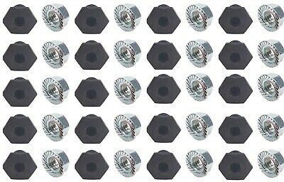Threaded Nut Insert Steel 20 Pack Body Bryke Fasteners Racecar bodies IMCA USMTS