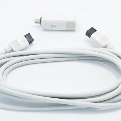 Genuine Belkin IEEE 1394 cable FIREWIRE 800/400 9-PIN TO 6-PIN 6ft 1.8M