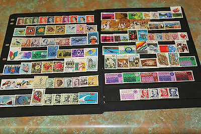 AUST BULK LOT 1966 - 1972 x 102 ALL DIFF WITH H/V,SETS   SPECIAL  F/U