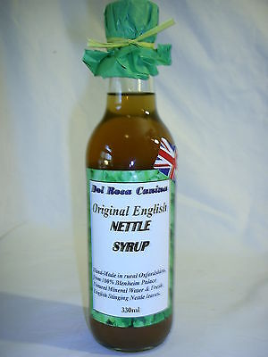 ASTHMA & COPD RELIEF with natural NETTLE drinking Syrup 330ml High Strength