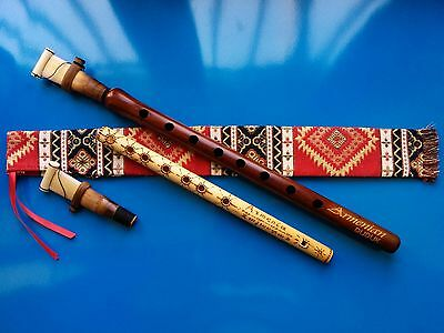ARMENIAN DUDUK Key A from Apricot Wood, 2 Reeds, National Case & Free Gift Flute