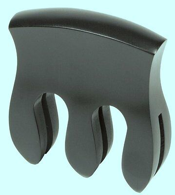 Ebony Double Bass Mute 3 Prong. Best Quality. WBO