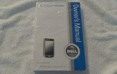 New Dell Axim X51/X51v Owners Manual Operating Instructions User Guide (OMF424)