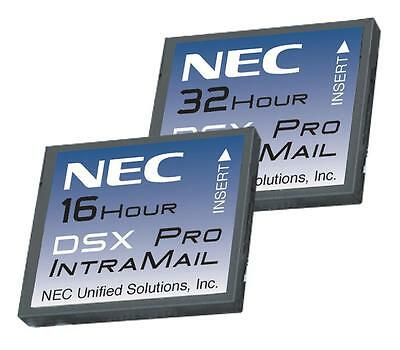NEC DSX 1091013 V1.3 IntraMail  16-Hour Voice Mail CARD * WARRANTY